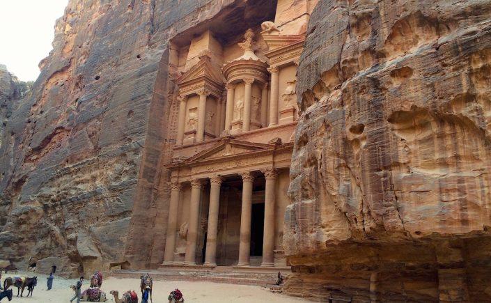 Oldtidsbyen Petra i Jordan