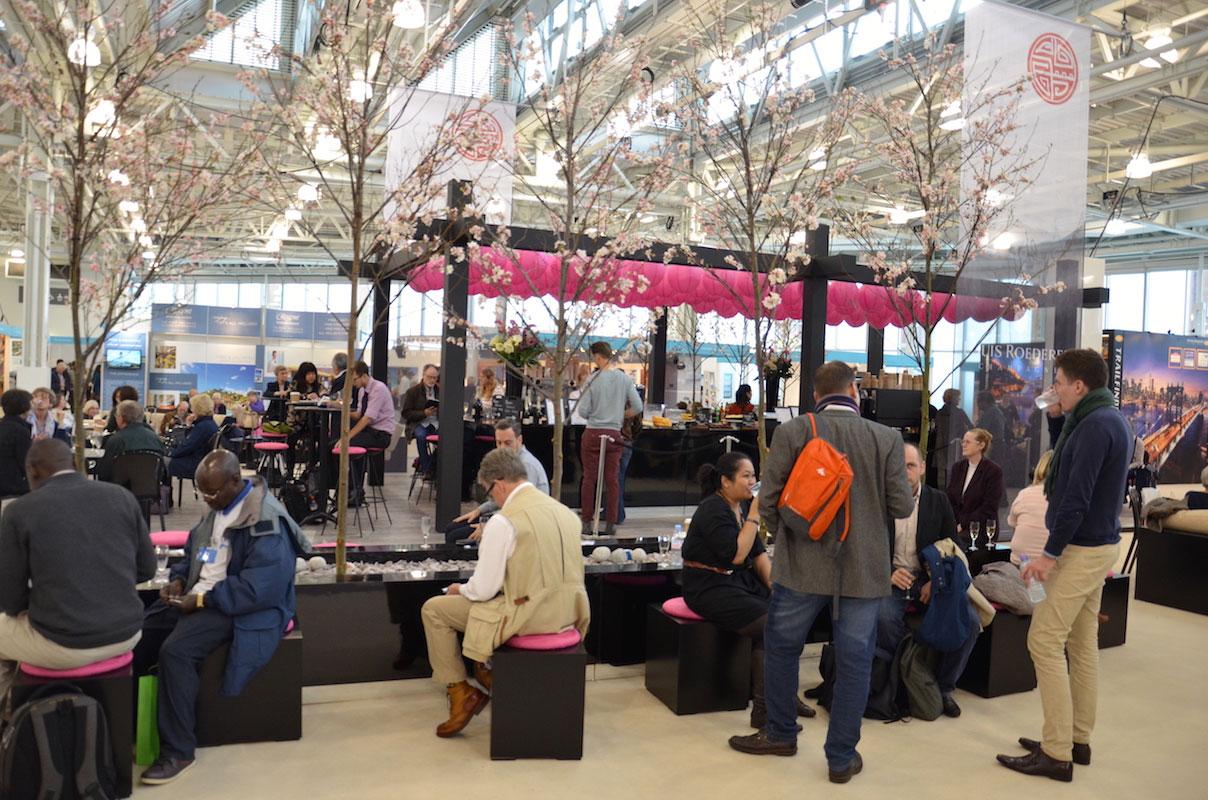 Condé Nast Luxury Travel Fair i London, 2016.