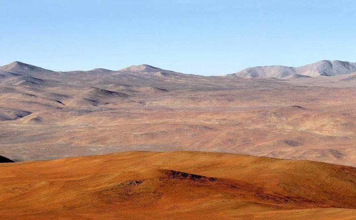 Atacamaørkenen i det nordlige Chile
