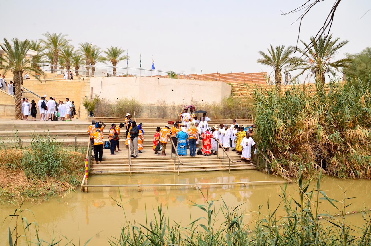 Jesu dåbssted i Jordanfloden