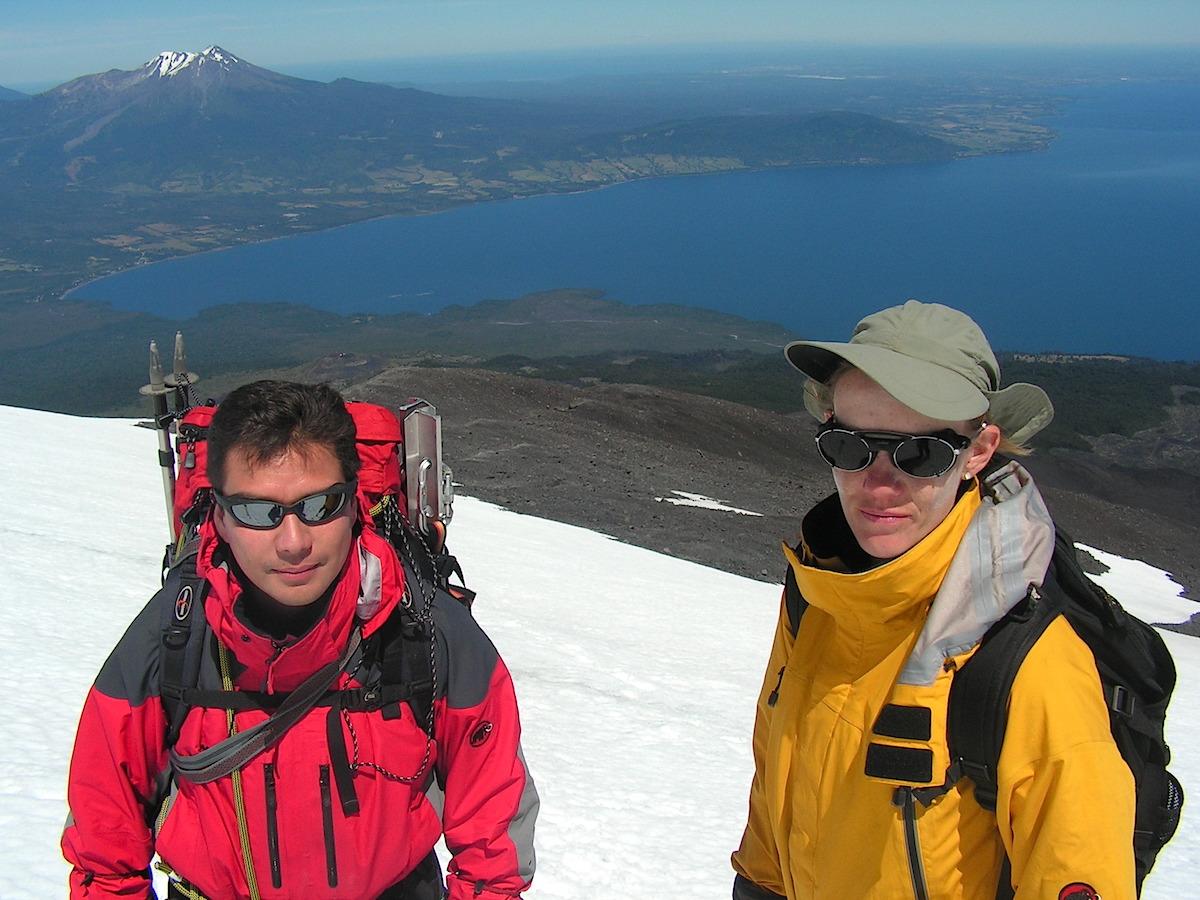 Osorno vulkanen i Chile