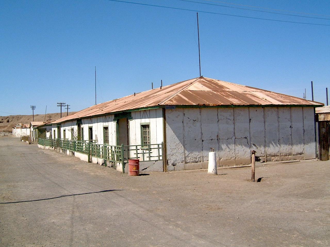 Humberstone i det nordlige Chile.