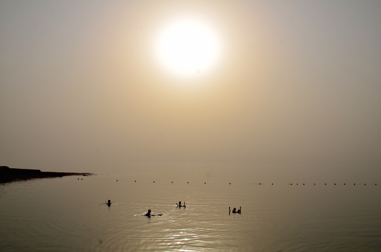 Det Døde Hav i Jordan
