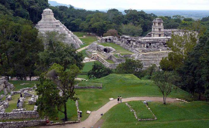 Palenque, Bonampak og Yaxchilán