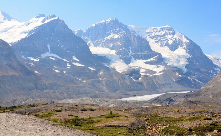 Columbia Icefields i Canada