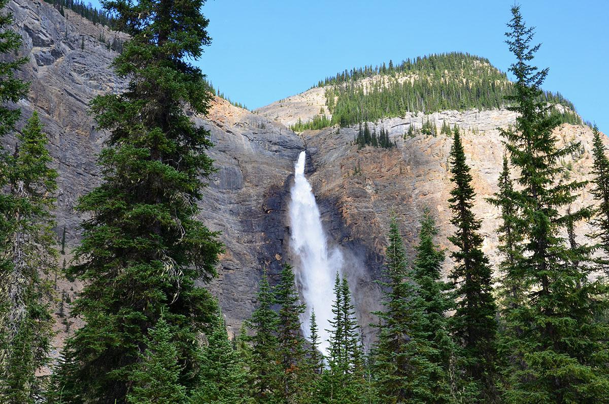 Et af Canadas højeste vandfald
