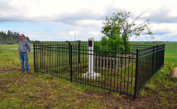 Friðrika Björnsdóttirs grav i Riverton