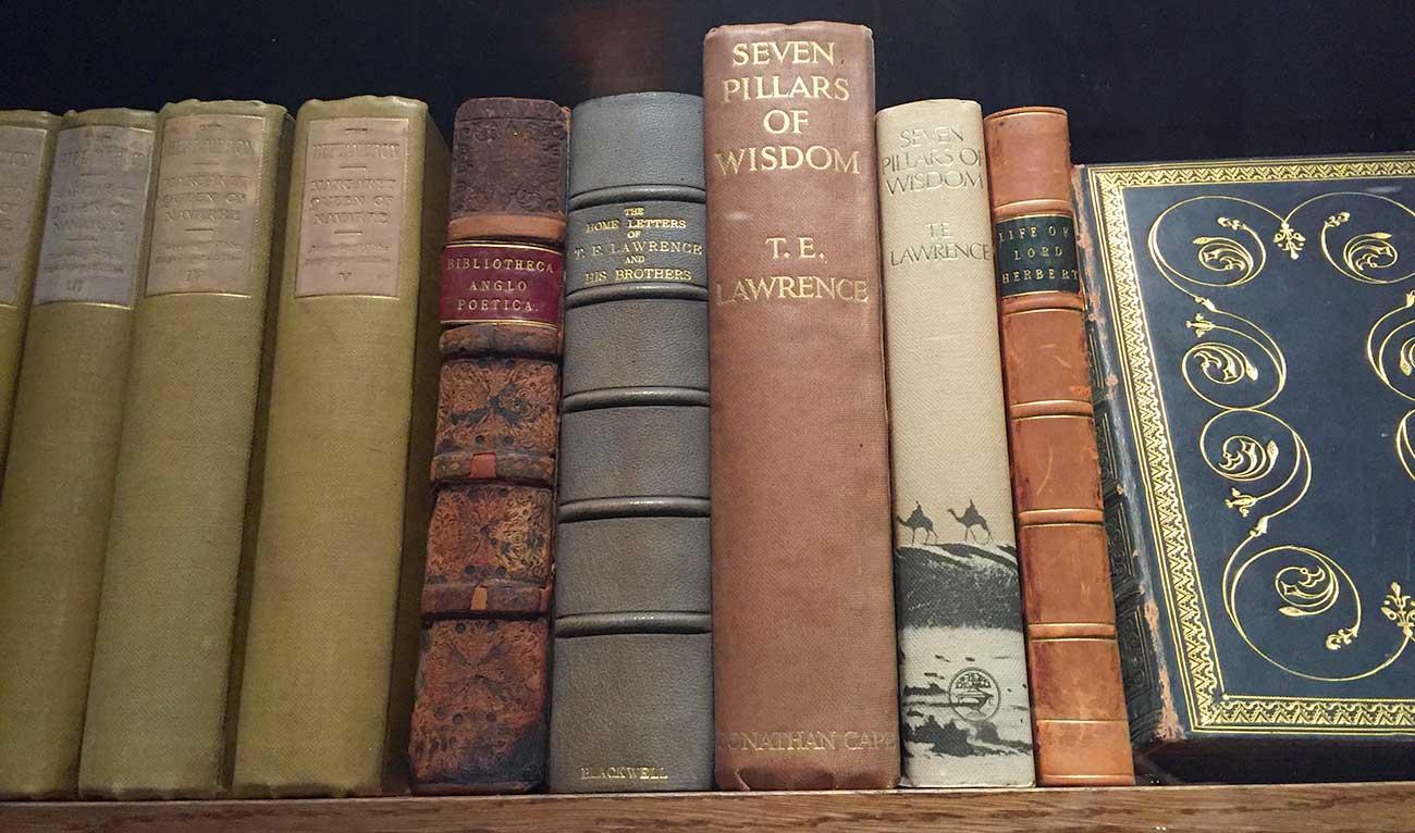 Gamle bøger på udstilling i Oxford