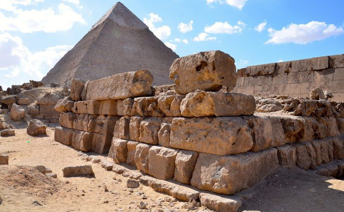 Gizapyramiderne i Cairo, Egypten