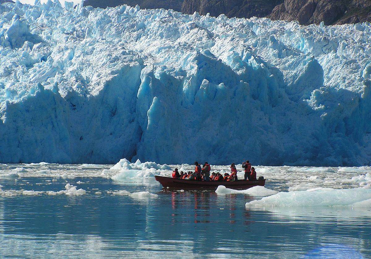 Gletsjersøerne i det sydlige Chile