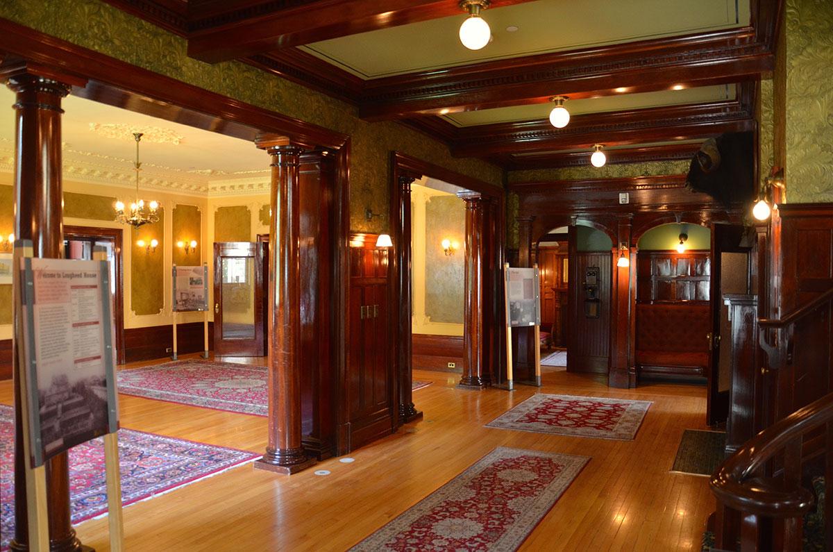 Husets fine ballroom