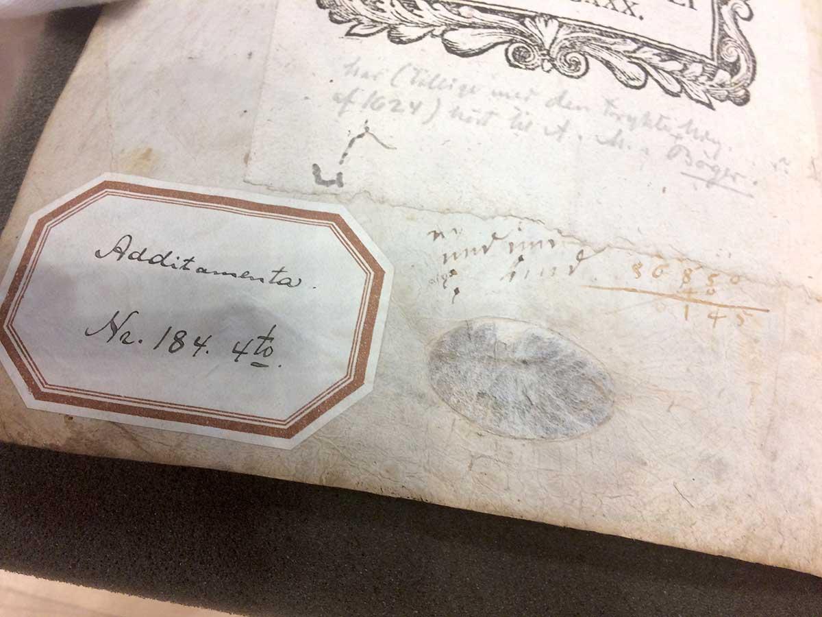 Omslaget på Jens-Munks-dagbog