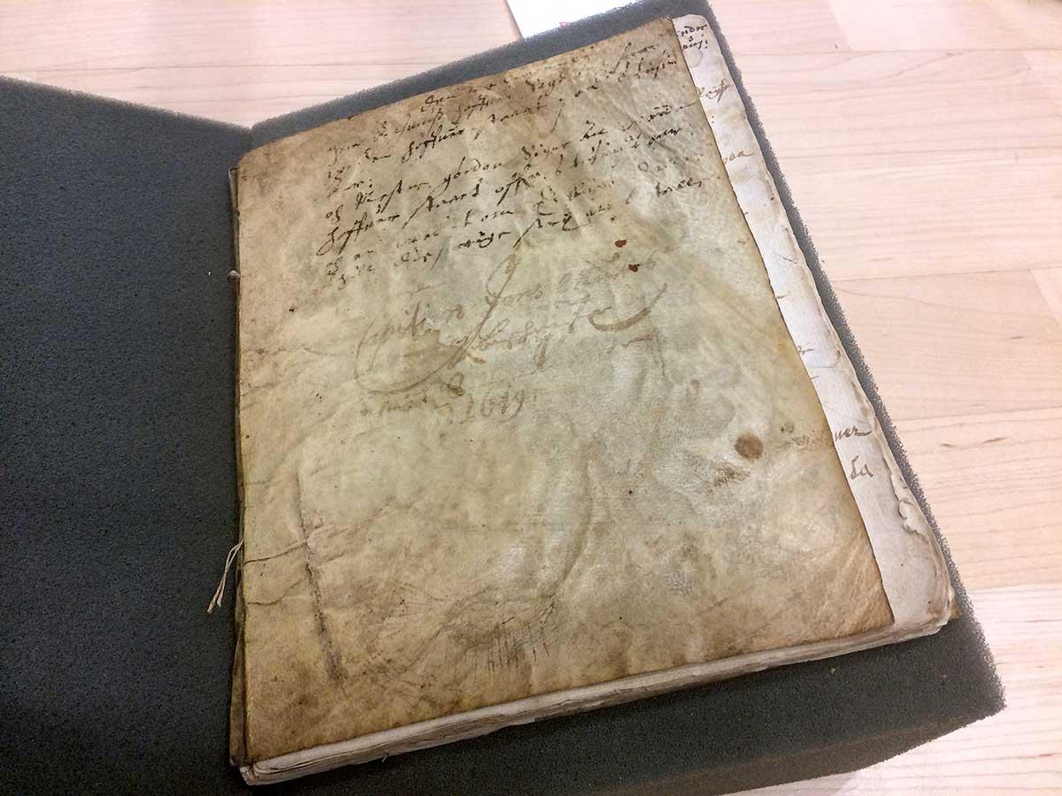 Jens-Munks-dagbog-på-Det-Kongelige-Bibliotek