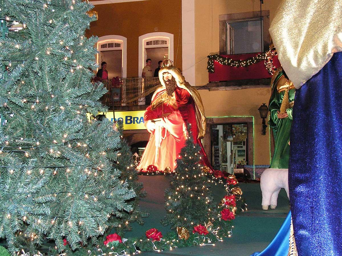 Jul i San Salvador de Bahia i Brasilien.