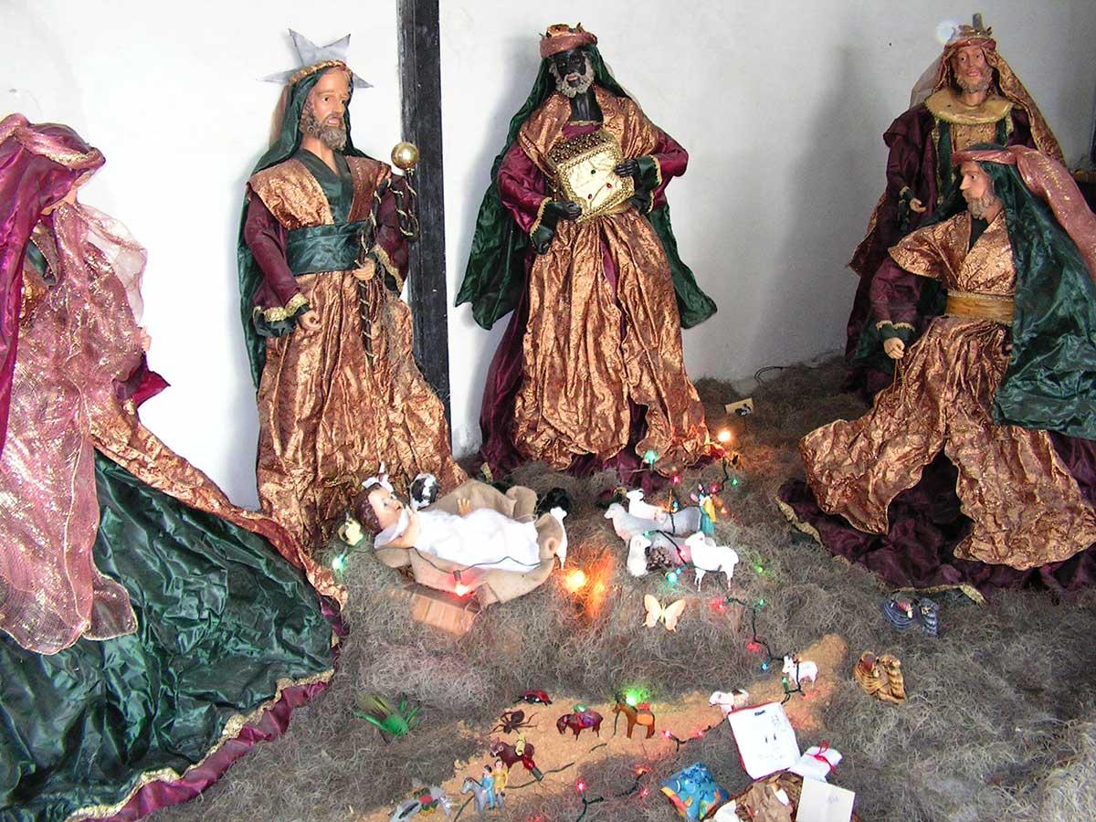 Jul i Tegucigalpa i Honduras