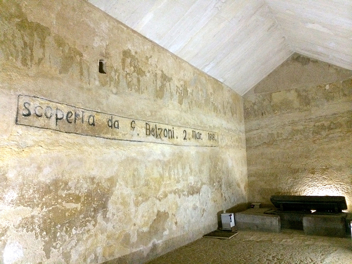 Kefrenpyramiden i Cairo, Egypten
