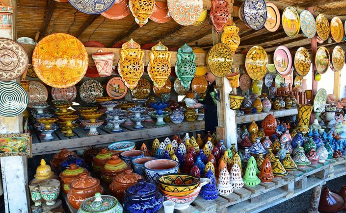 Keramik i Marokko