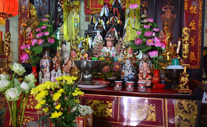 Kinesisk tempel i Phuket Town