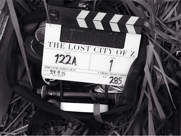 Klaptræ fra filmen Lost City of Z