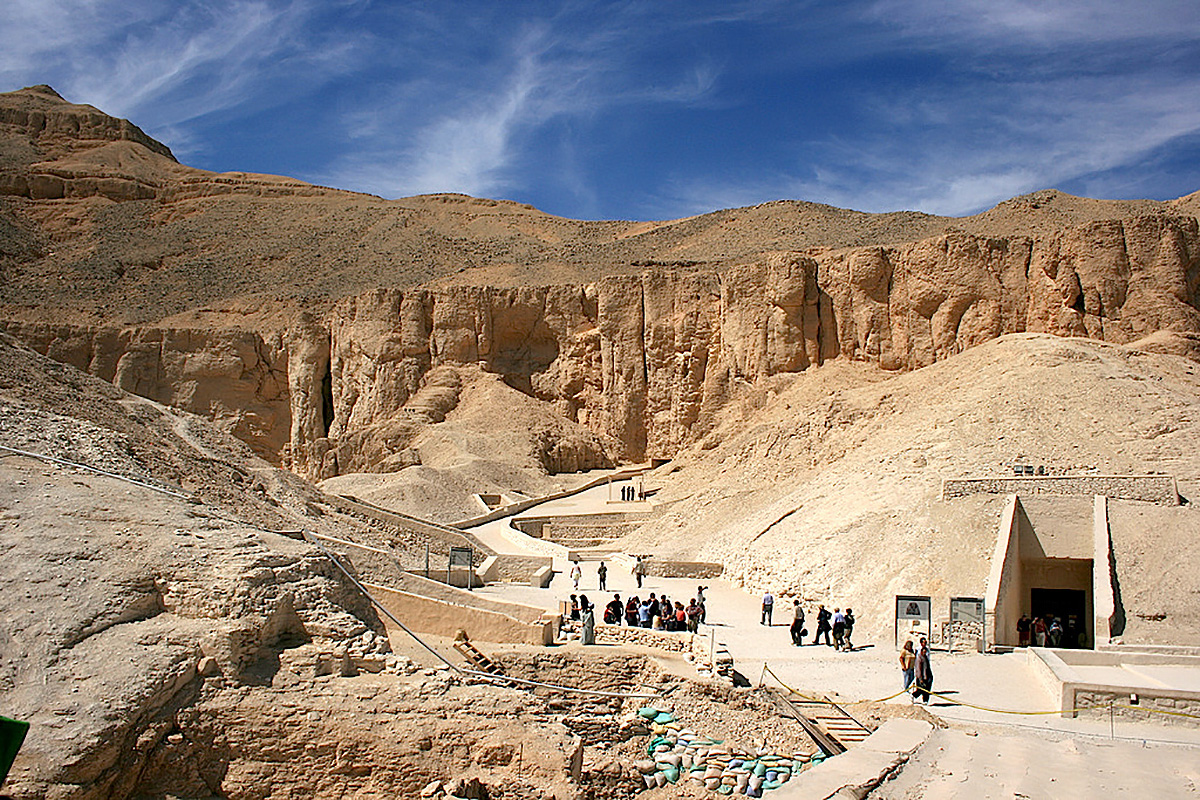 Kongernes Dal i Luxor, Egypten