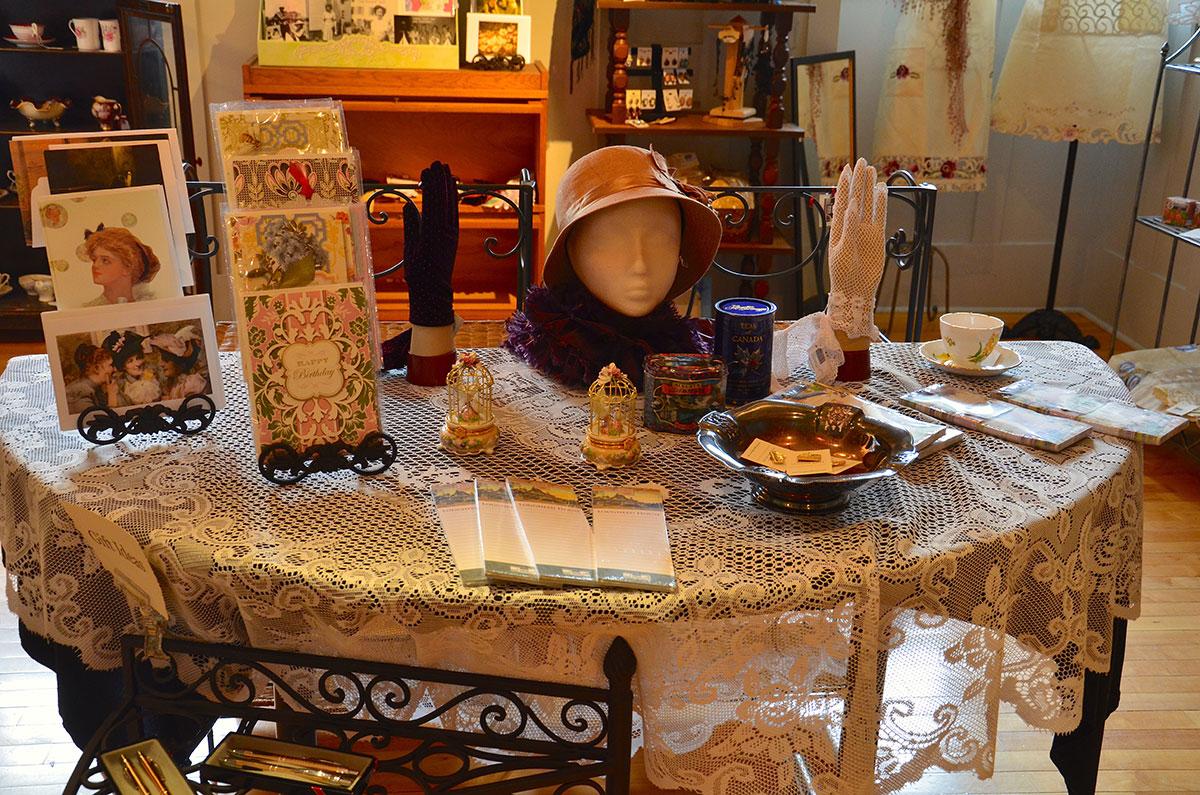 Lougheeds House og deres hyggelige souvenirbutik