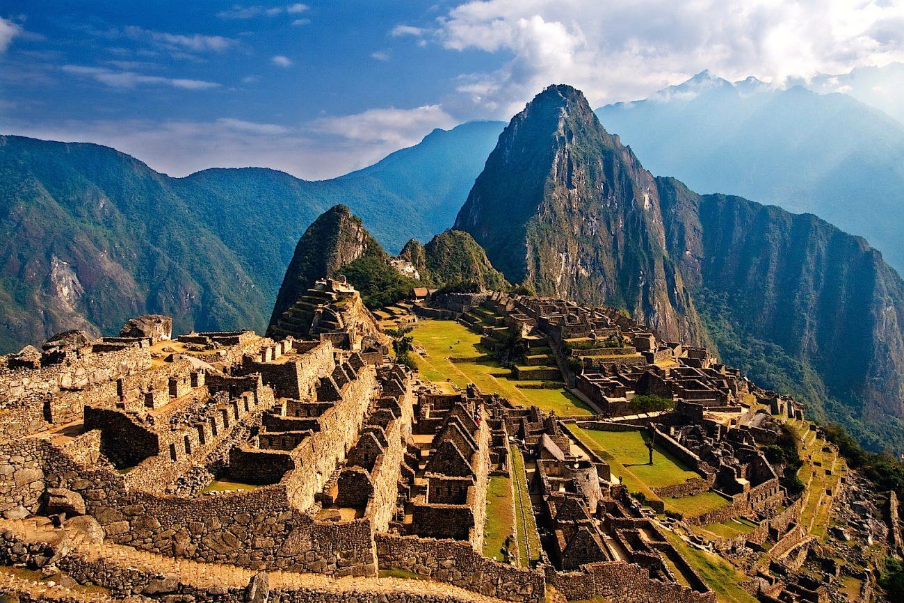 Den smukke gamle inkaruin Mache Picchu i Perus Andesbjerge er et af mine absolut yndings-steder i verden. Jeg har besøgt ruinen to gange, først i 2003 og året efter i 2004.