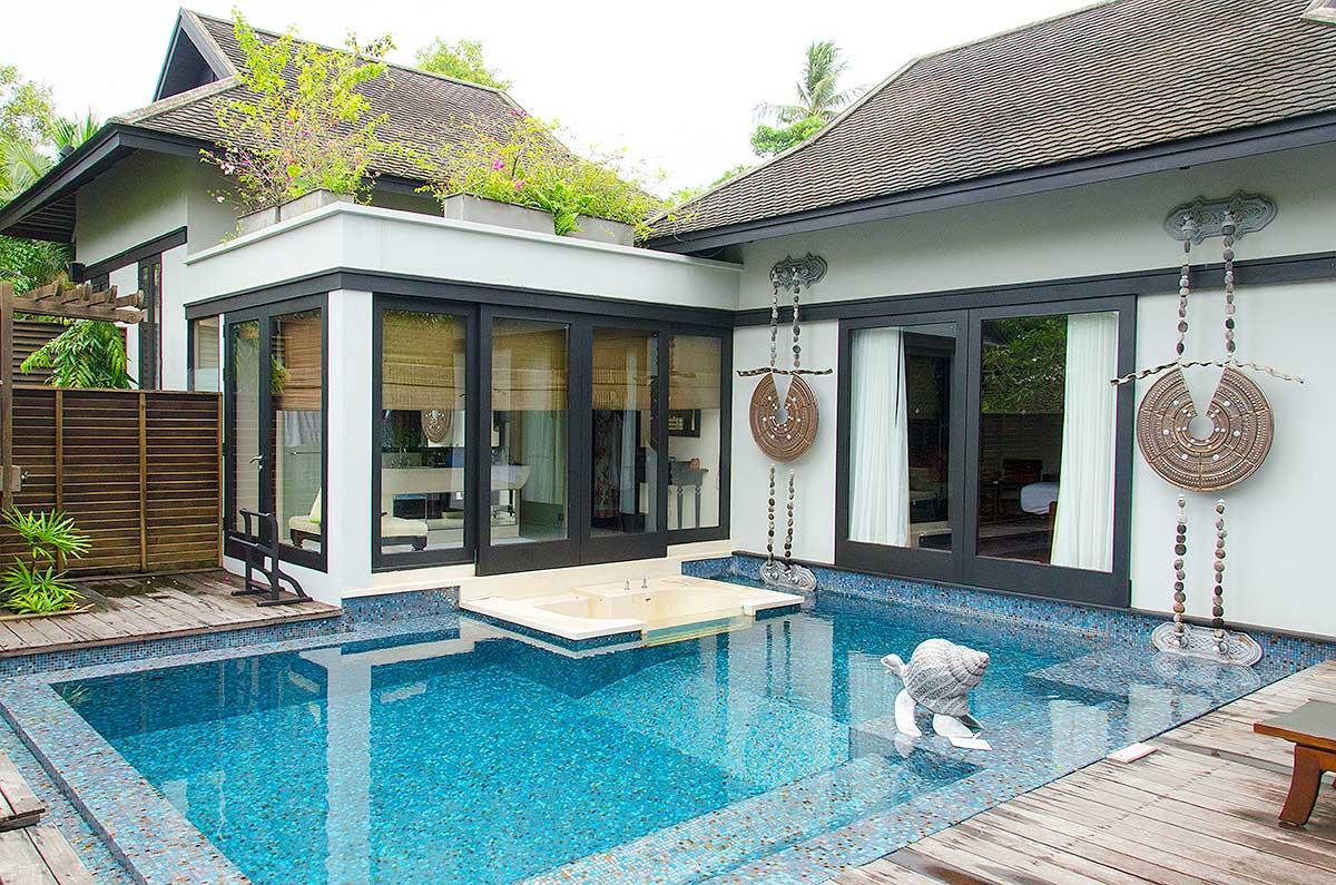 Min tropevilla på Anantara Maoi Khao Hotel, Phuket