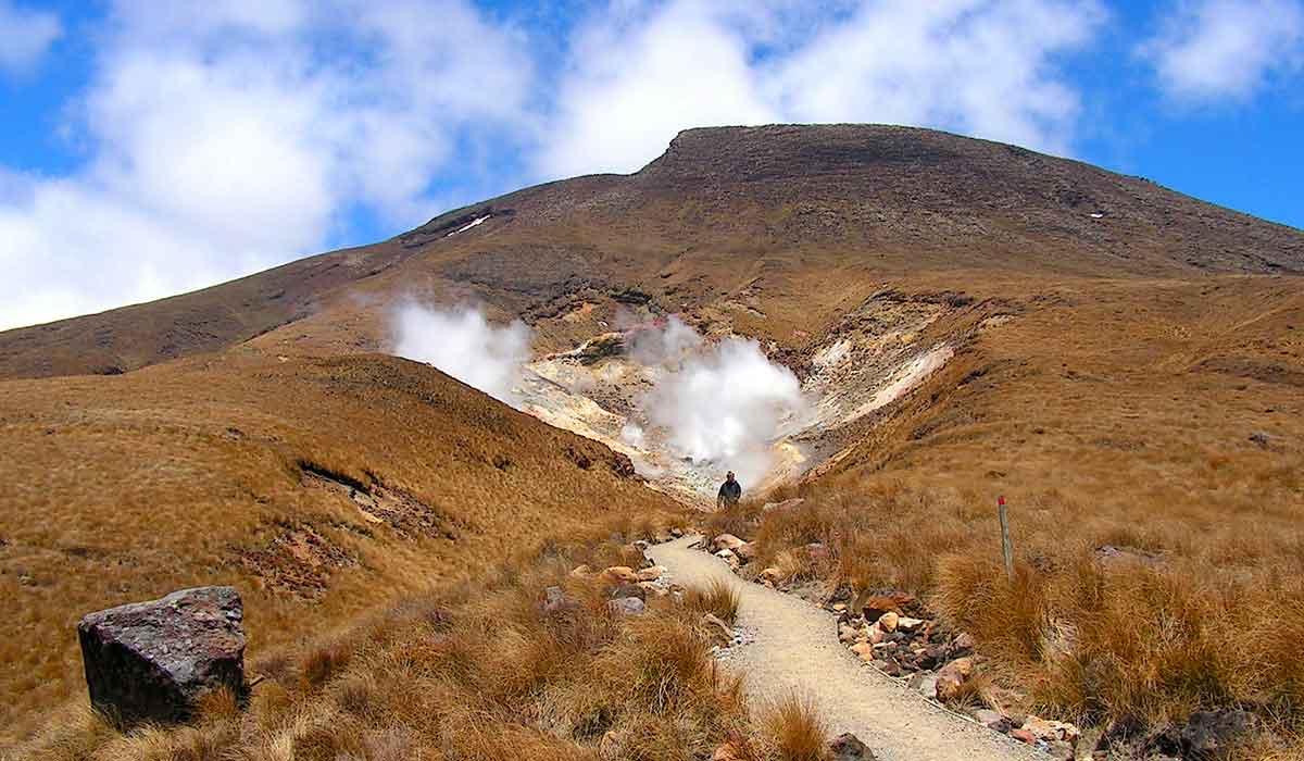 New Zealand, Tongariro Nationalpark, Tongariro Crossing