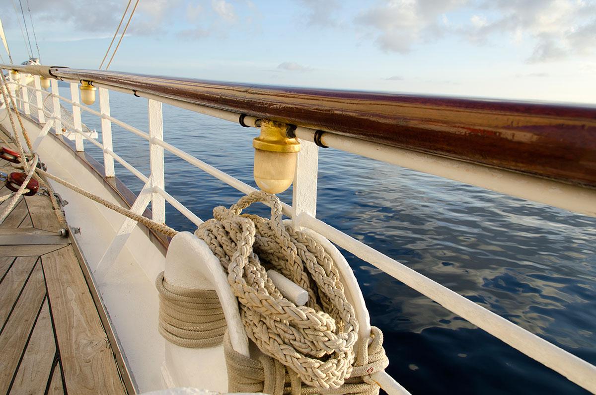 Ombord på Star Clipper