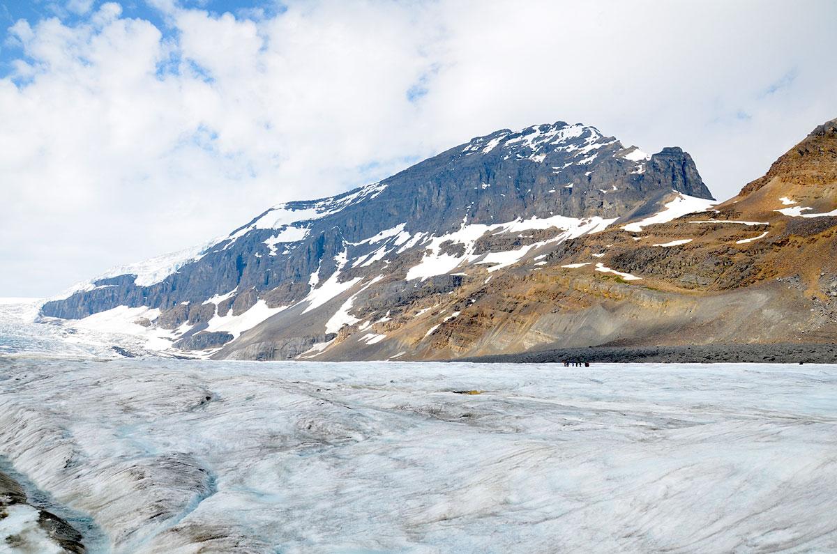 Oppe på gletsjeren