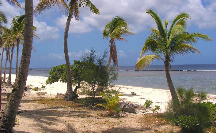 Strand på Tonga