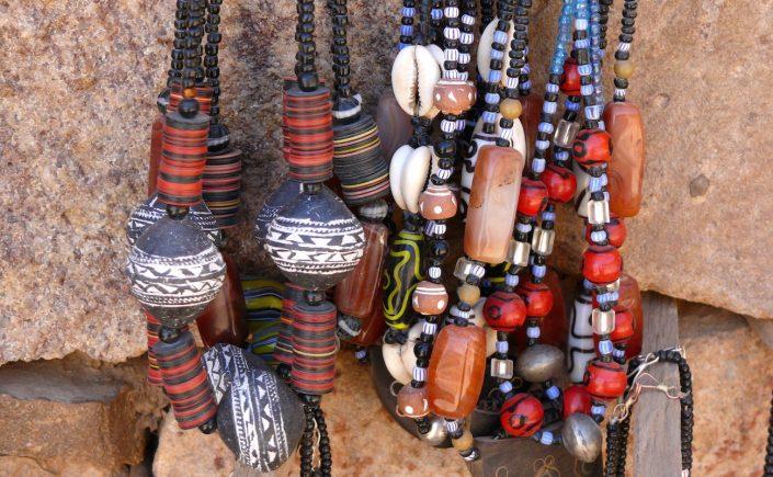 Perler fra Mali i Vestafrika