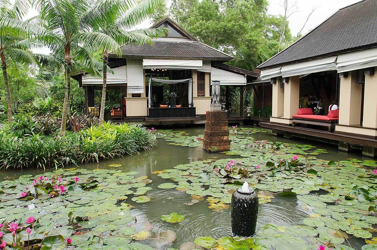 Receptionen på Anantara Maoi Khao Hotel, Phuket