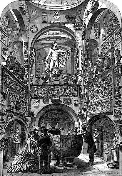 Soane Museet i London fra gammel tid