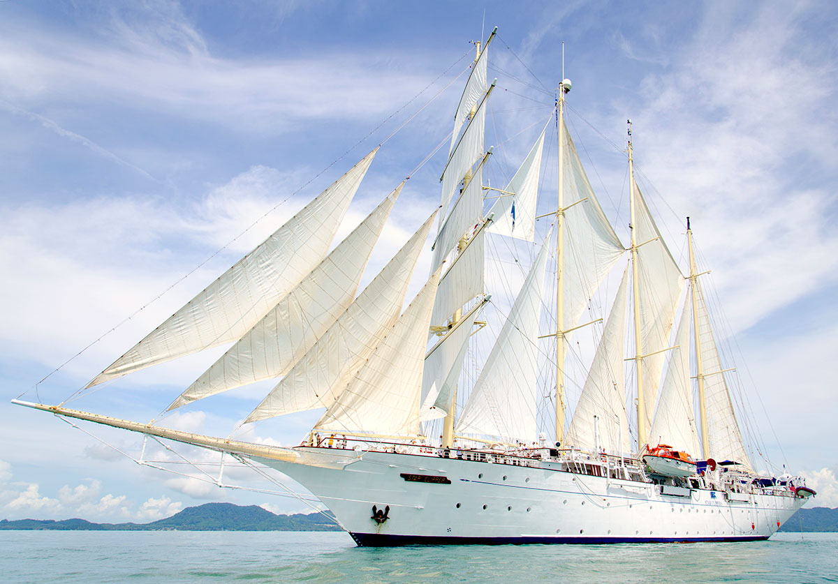 Det stolte skib Star Clipper