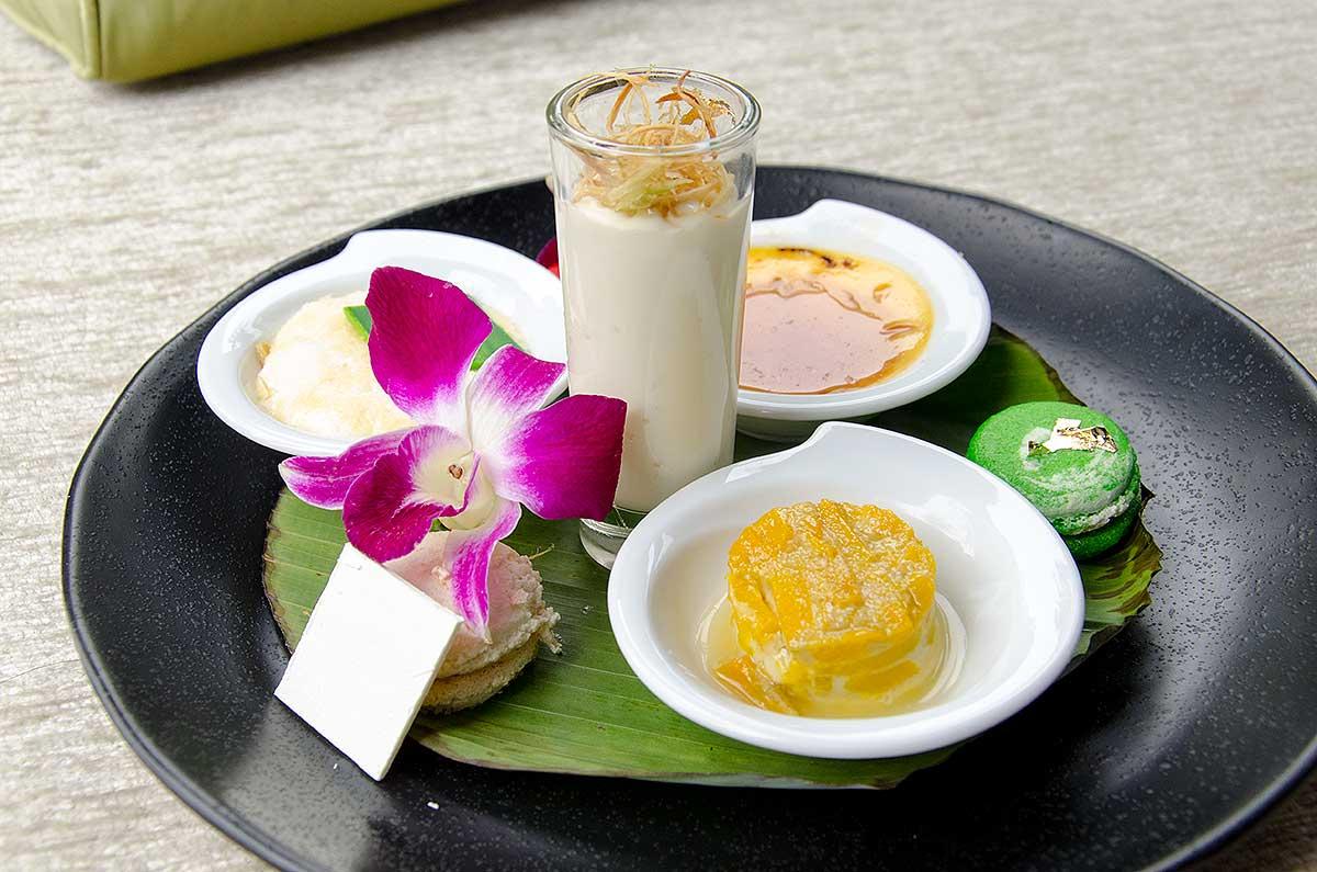 Velkomstanretning på Anantara Maoi Khao Hotel, Phuket