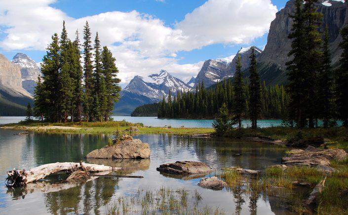 Jasper Nationalpark i Canada