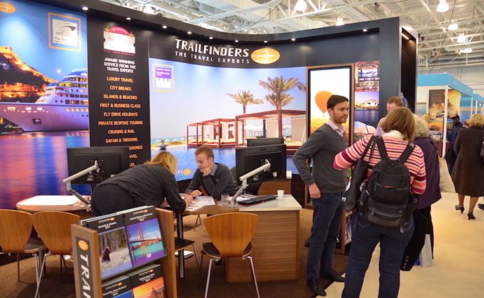 Rejsemessen Luxury Travel fair i London.